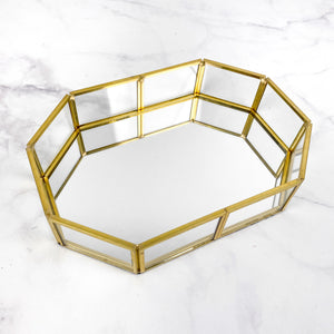 Geometric Vanity Tray - Small