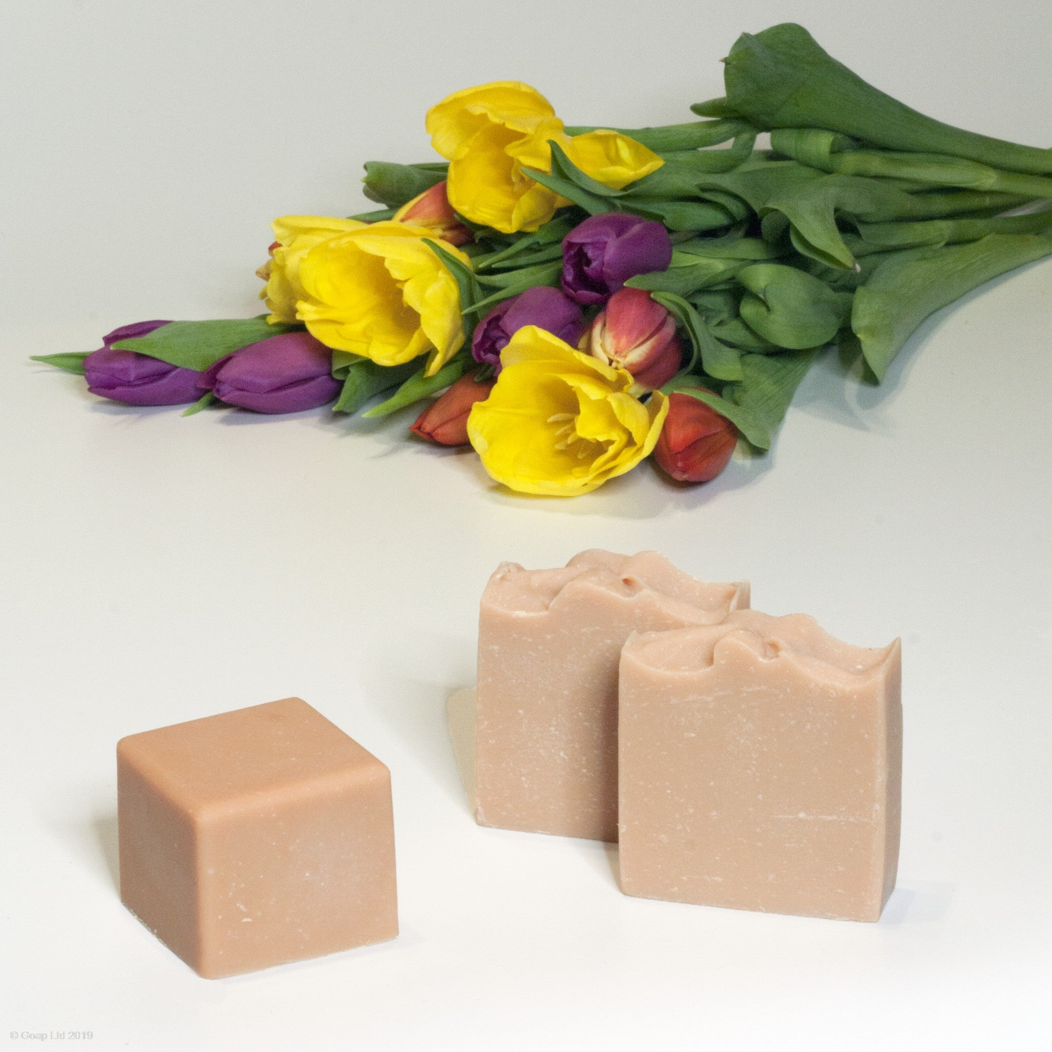 Flowery Goat Soap from Goap