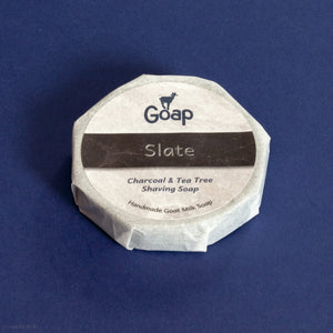 Slate Shaving Soap from Goap