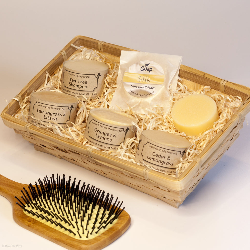 Haircare Gift Set of shampoo and conditioner from Goap