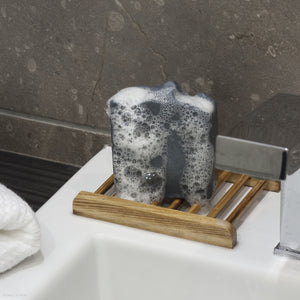 Black Goatea deep cleansing soap from Goap