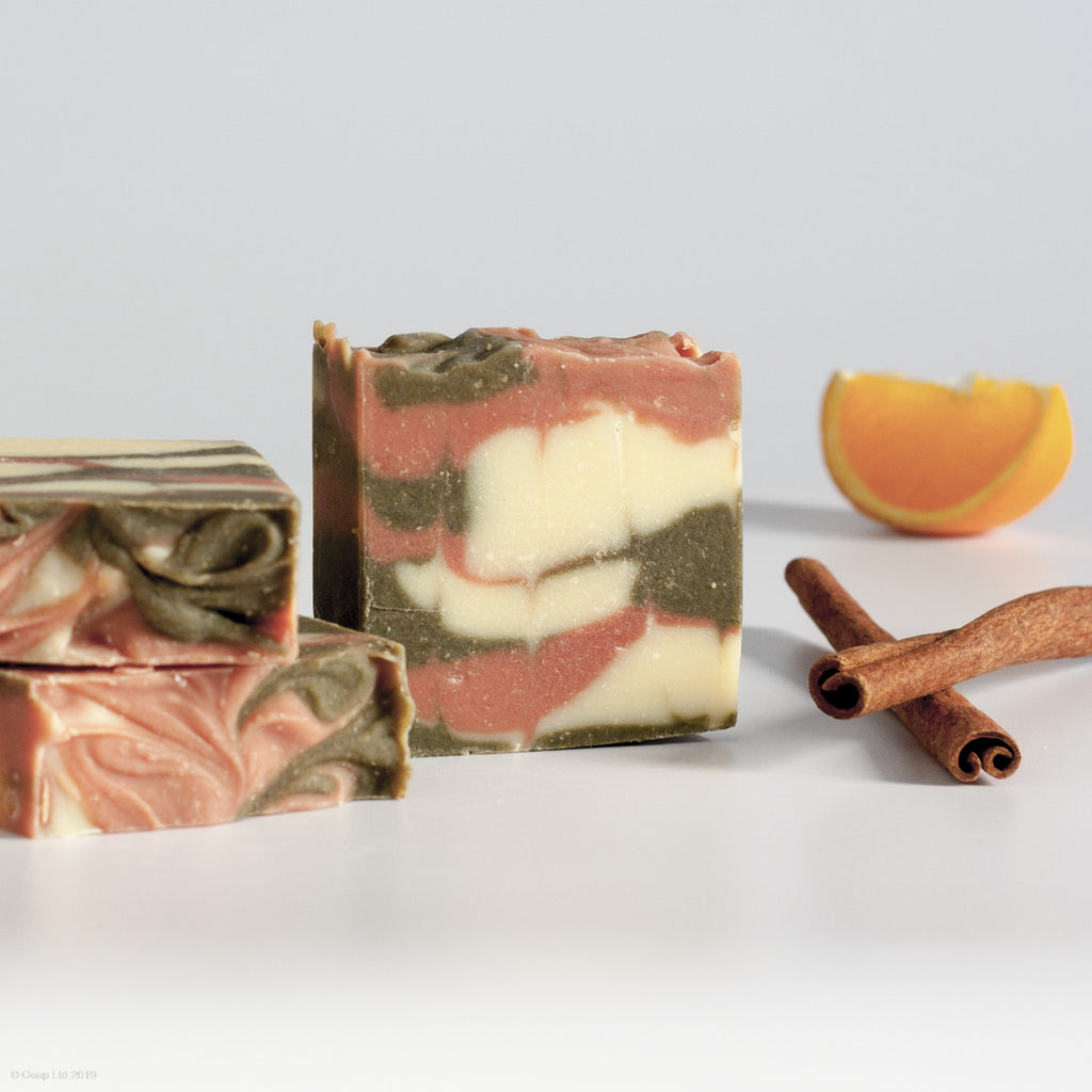 Orange & Cinnamon soap from Goap