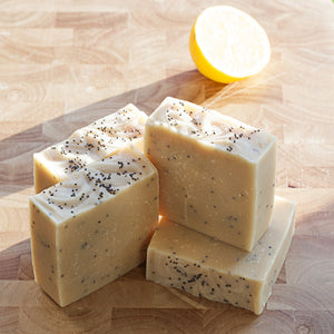 Poppy Seed & Lemon soap from Goap