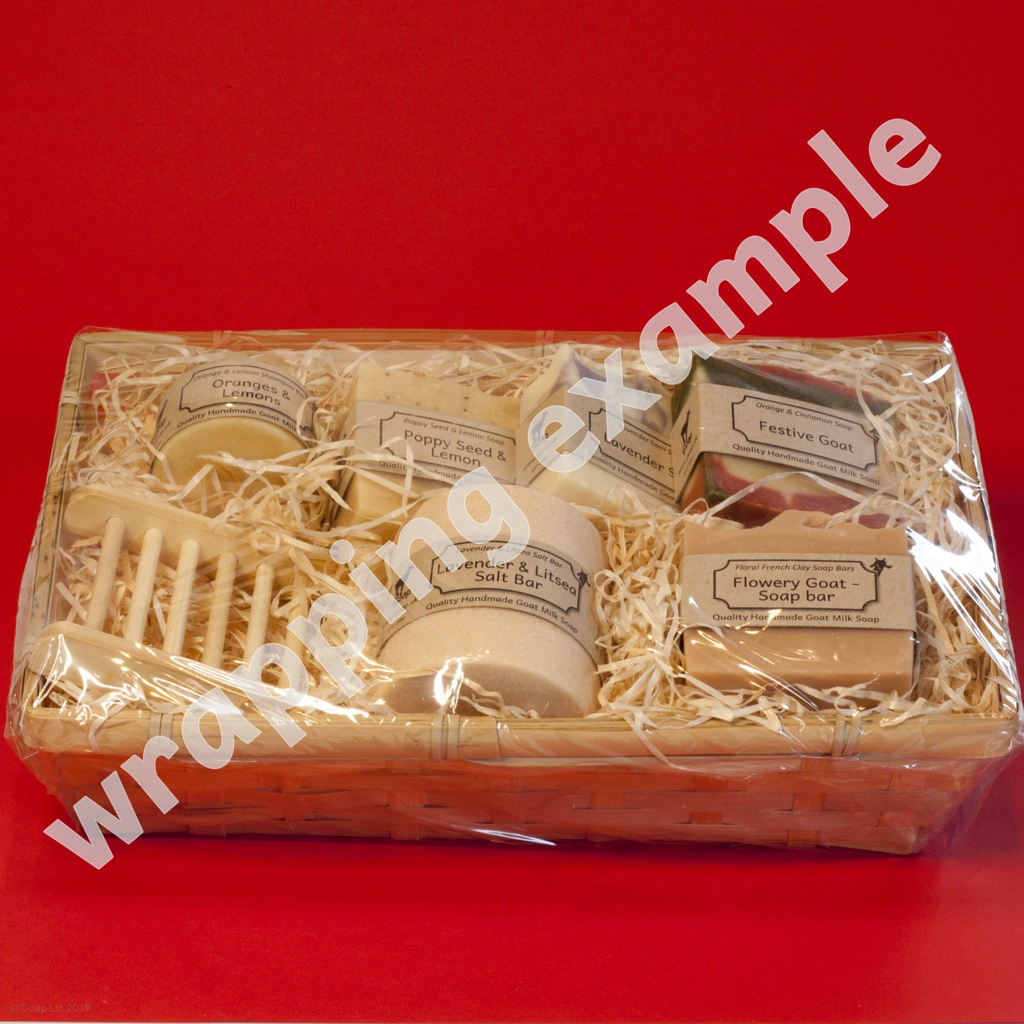 Wrapped Gift Set from Goap