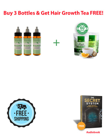 New Best Offer 3 Bottles + Free Tea