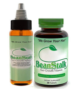 VITAMINS ON BACKORDER Crush Leaf BeanStalk Hair System (Oil-Vitamins) Double Your Results!