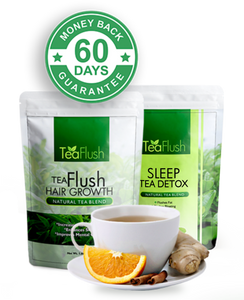 Crush Leaf Tea Flush for Great Sleep