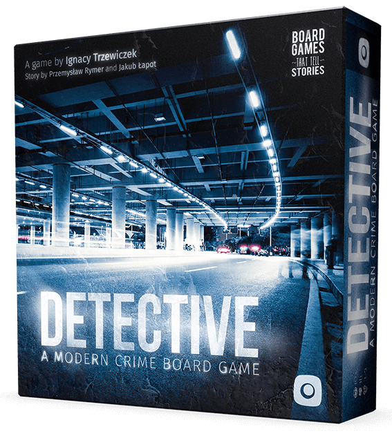 Detective: A Modern Crime Board Game DINGED