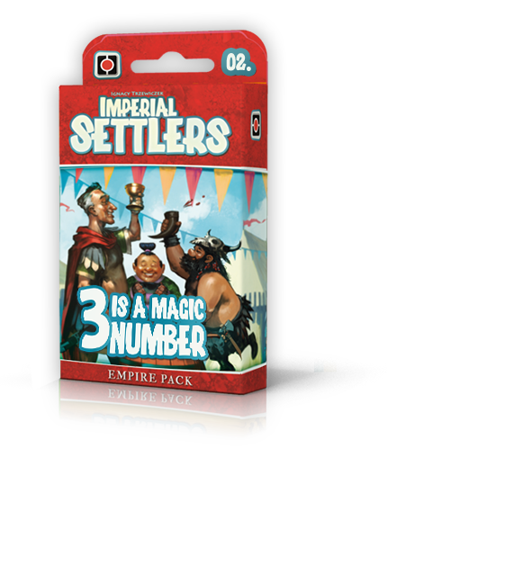 Imperial Settlers: <br>3 is a Magic Number