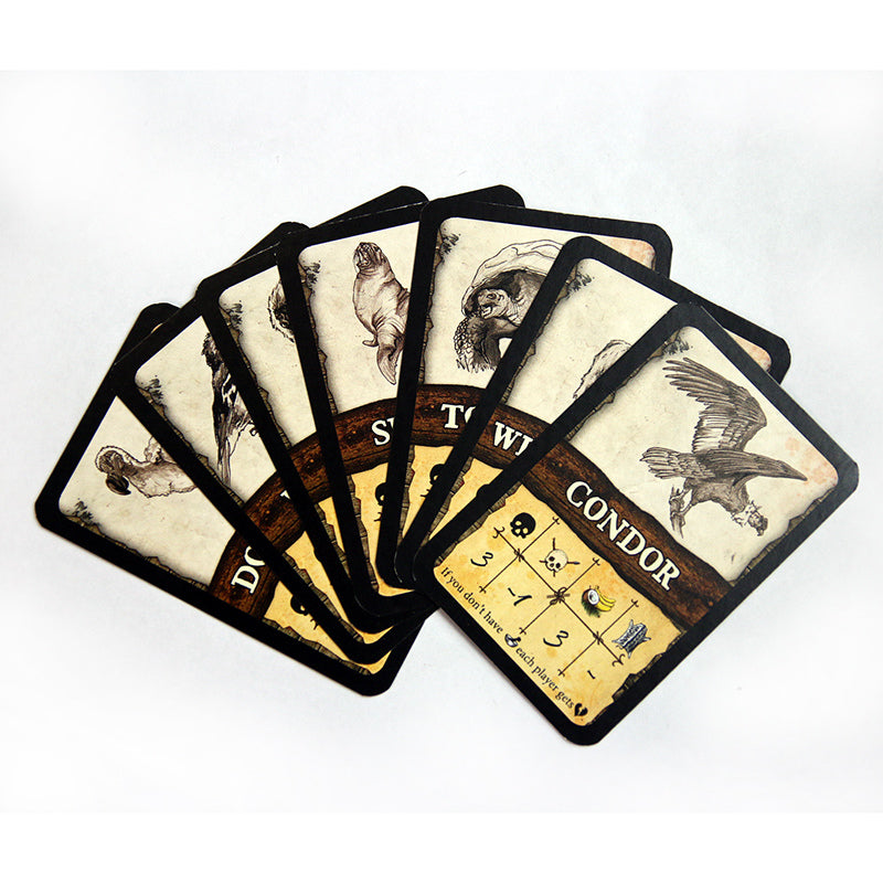 Robinson Crusoe - Additional Beast Cards