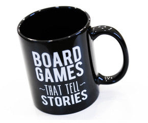 Board Games That Tell Stories MUG - BLACK