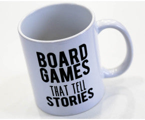Board Games That Tell Stories MUG - WHITE