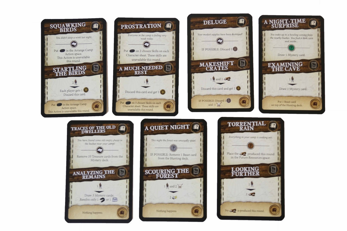 Robinson Crusoe - Event Cards