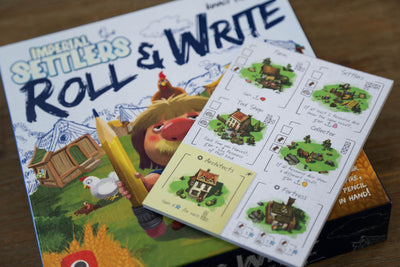 IS Roll & Write -  Basic Village and Empire Notepads
