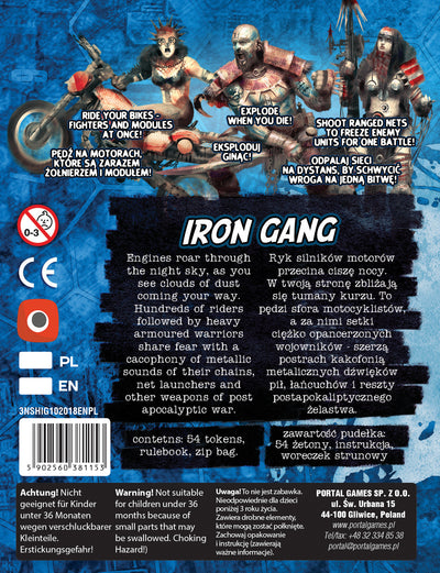 Neuroshima Hex: Iron Gang