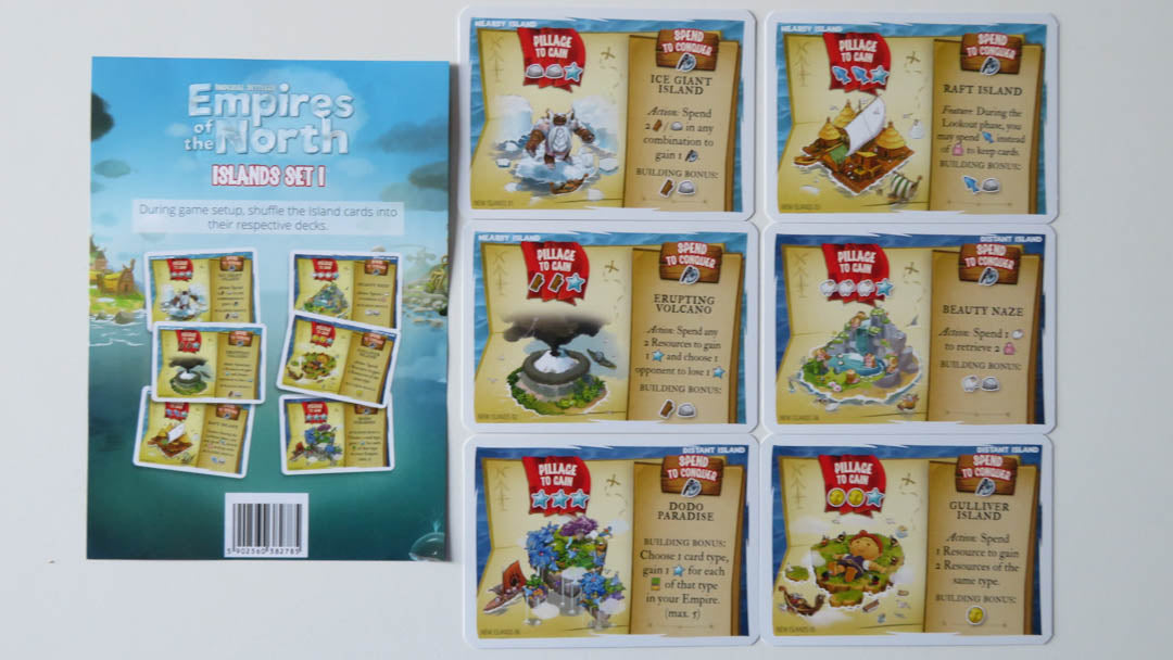 IS Empires of the North Islands Set