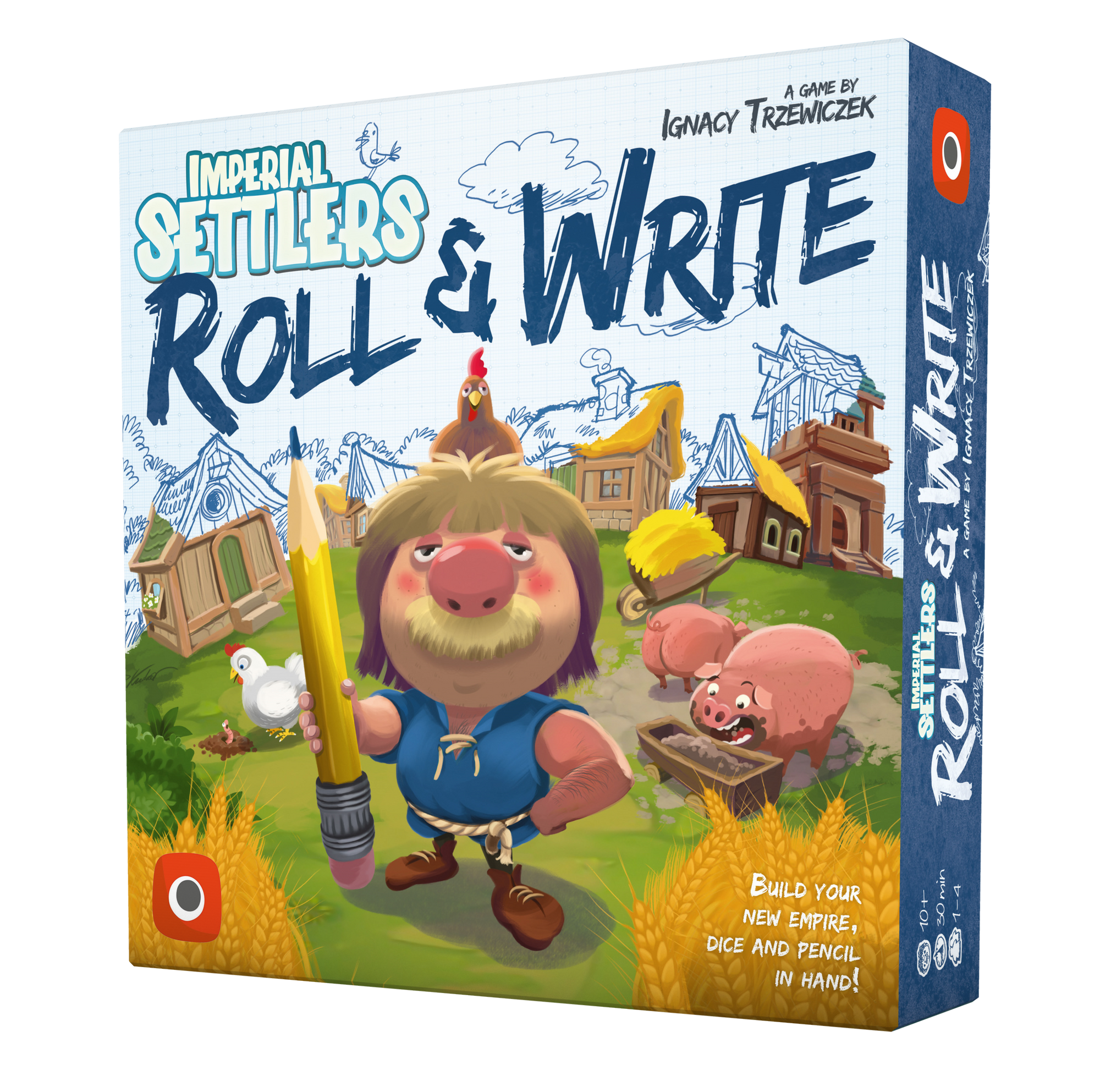 Imperial Settlers: Roll & Write DING & DENT