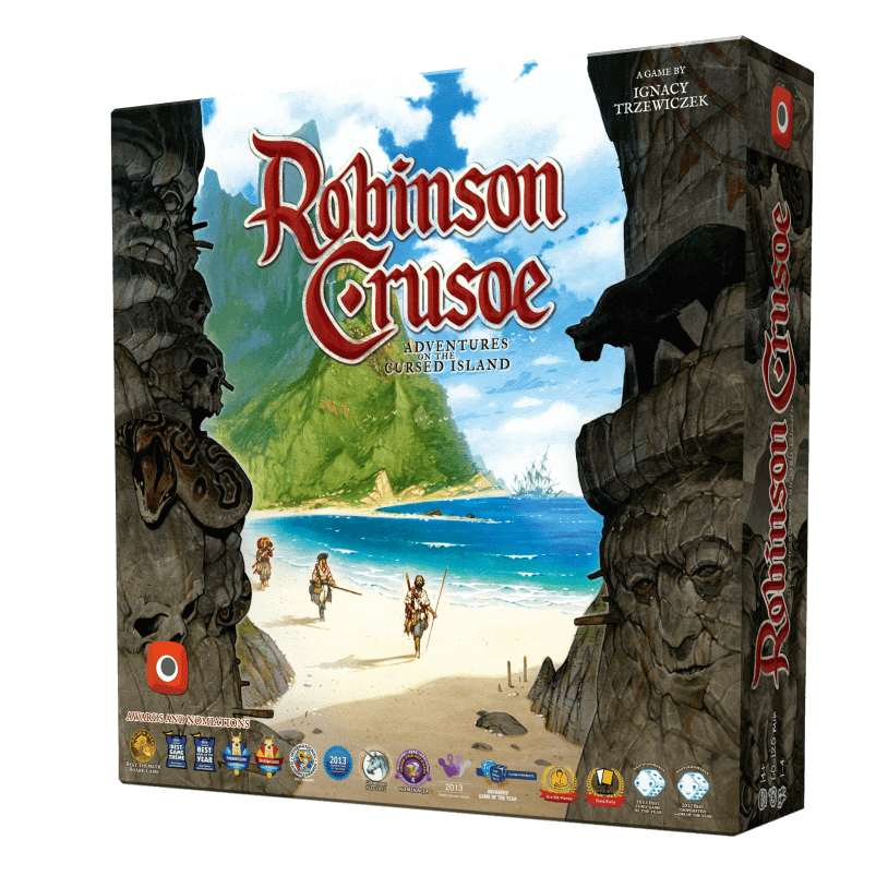 Robinson Crusoe 2e DINGED