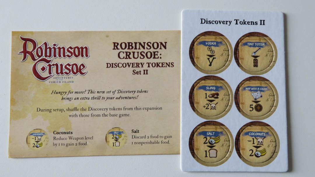 Robinson Crusoe: Discovery Tokens Set 2