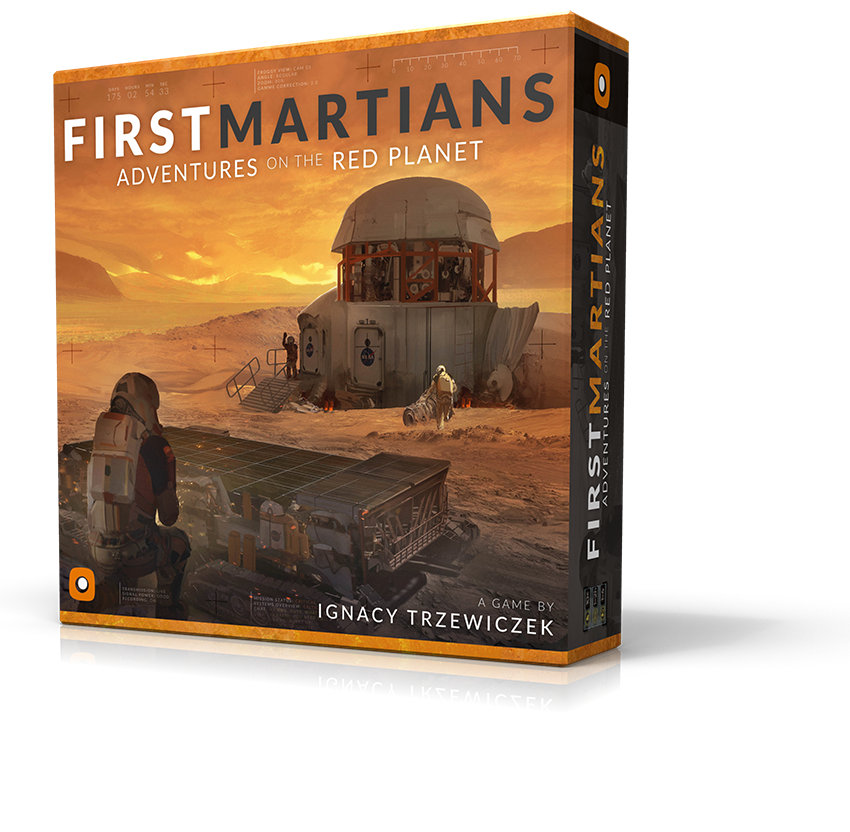 First Martians: <br> Adventures on the Red Planet