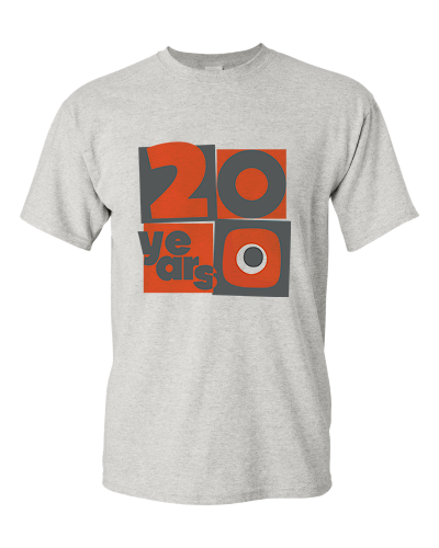 '20 Years' Anniversary T-Shirt
