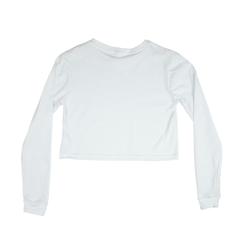 Womens Crop top Long sleeve