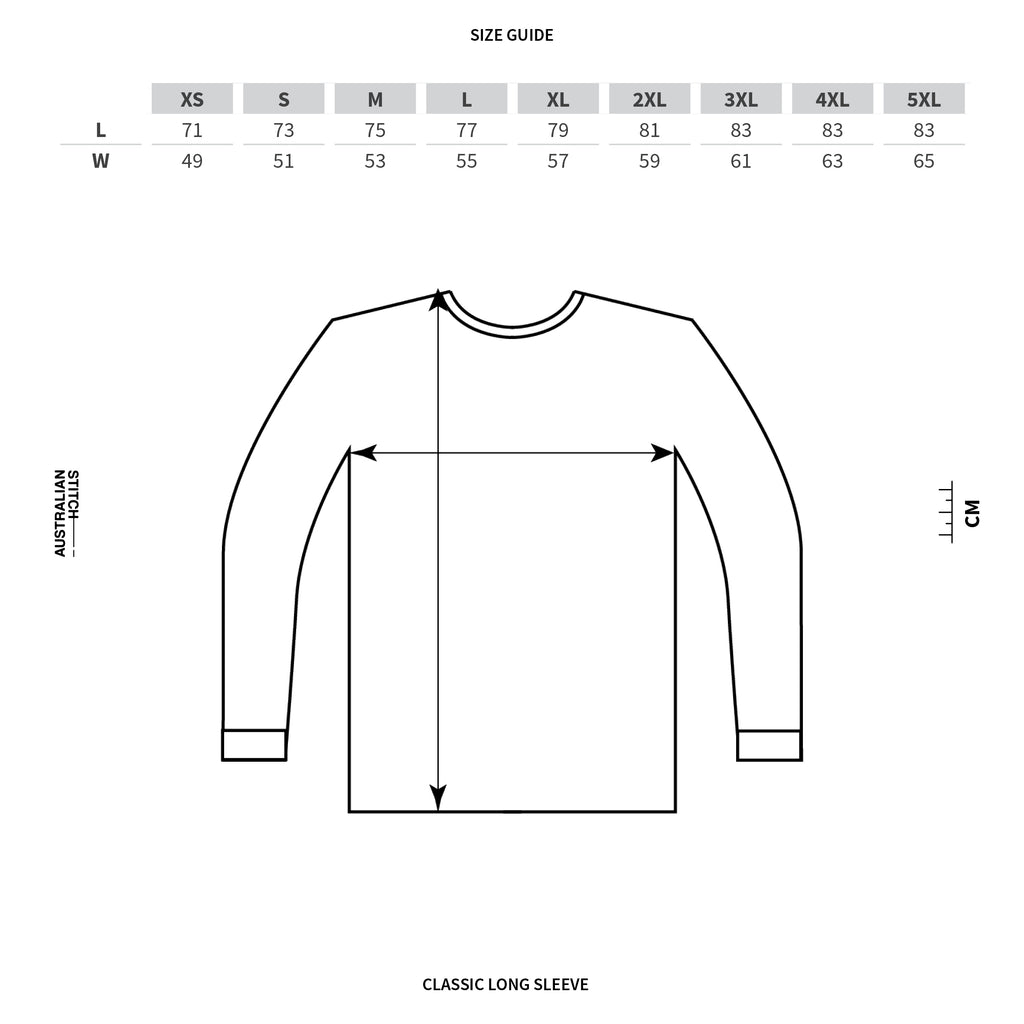 Mens Classic Long sleeve