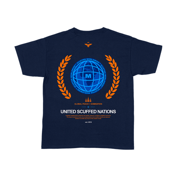 United Scuffed Nations Tee