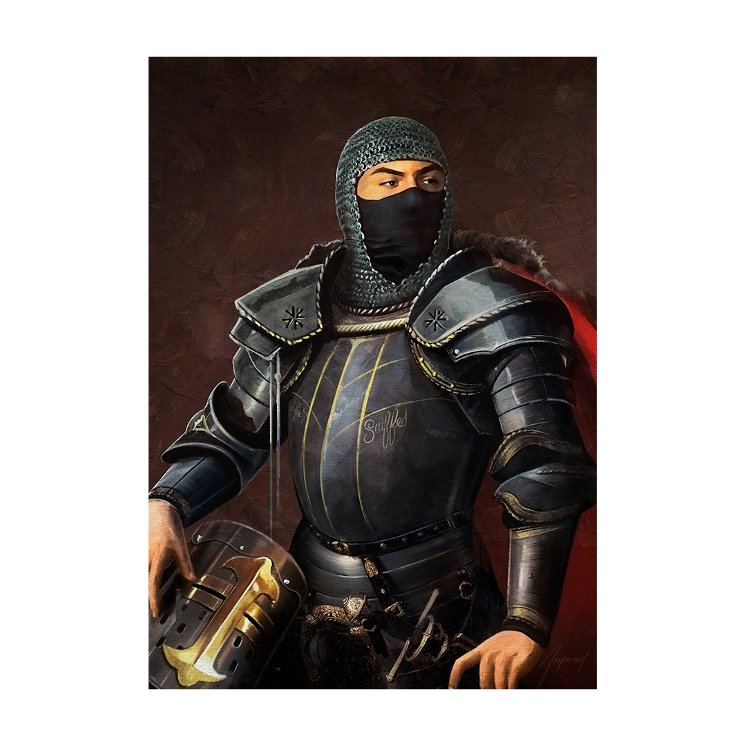 Swaggersouls Medieval Poster
