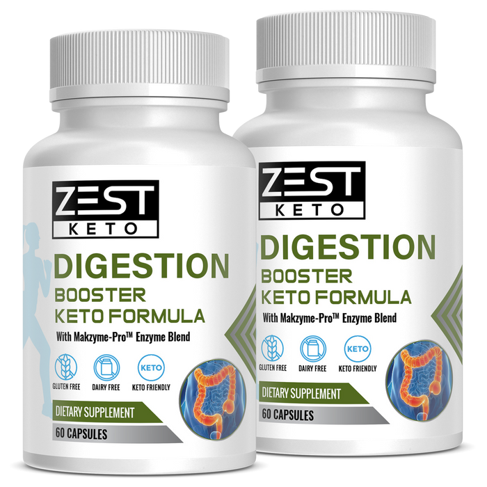 Digestion Booster | Makzyme Pro® Patented Enzyme Formula