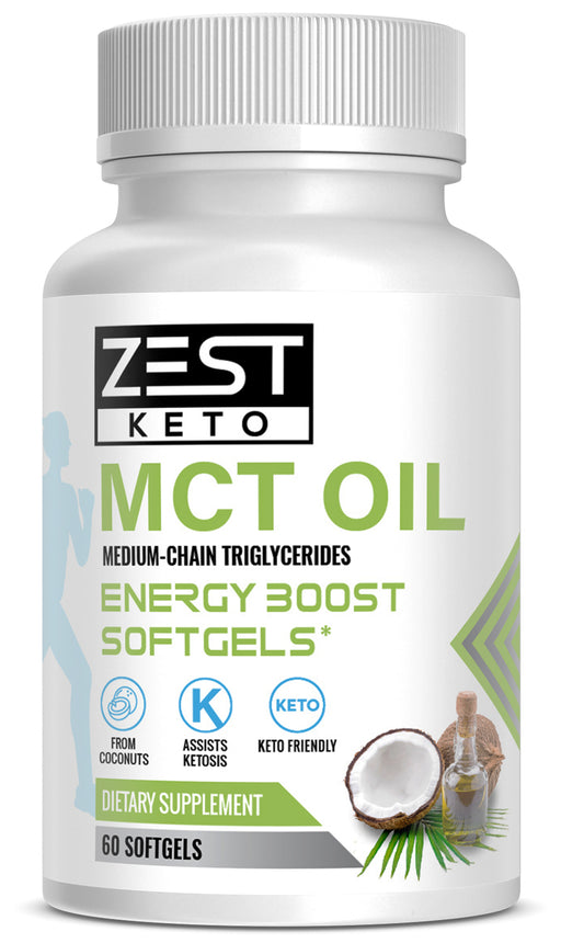 MCT Oil Energy SoftGels | Medium Chain Tryglycerides
