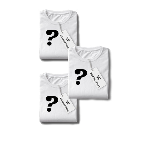 Make Your Own Combo Half Sleeve Tshirts(Pack of 3)