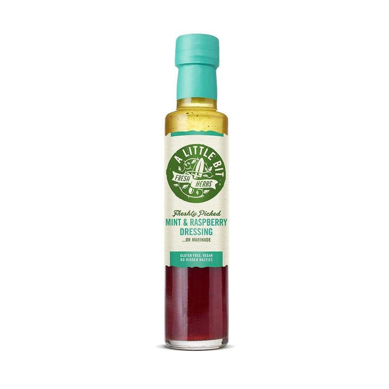 A Little Bit Food Co. Mint and Raspberry Dressing (250ml) - Live Well