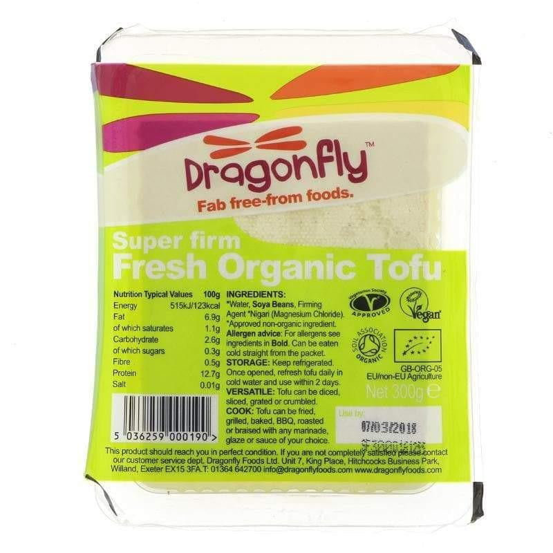Dragonfly Country Organic Natural Tofu (300g) - Live Well