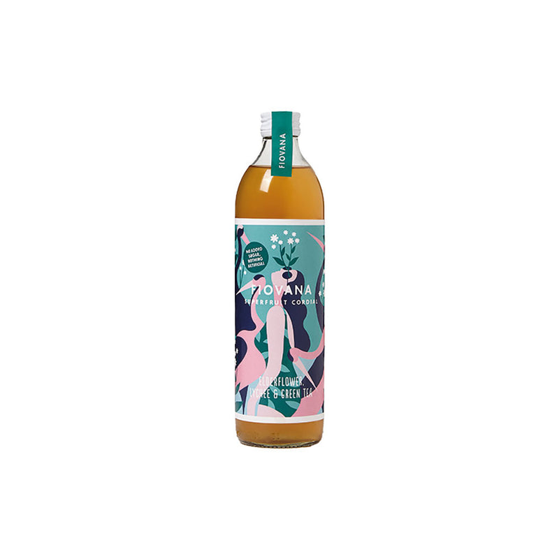Fiovana Elderflower, Lychee and Green Tea Superfruit (500ml)