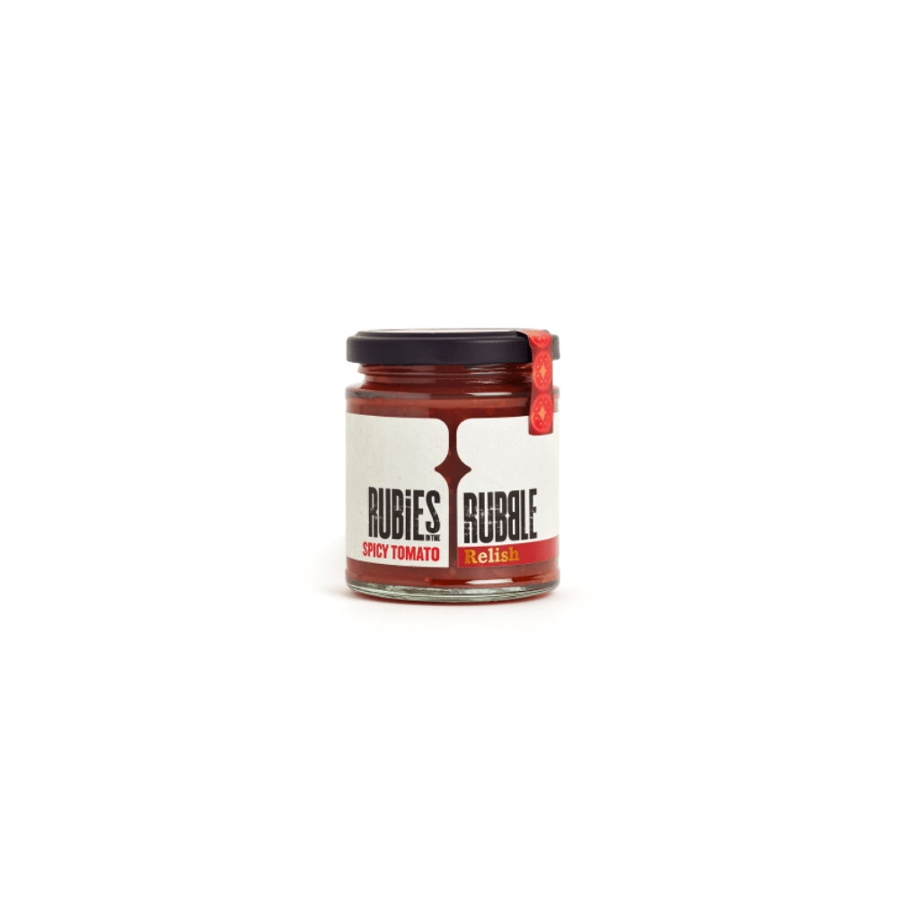Rubies in the Rubble Spicy Tomato Relish (200g)