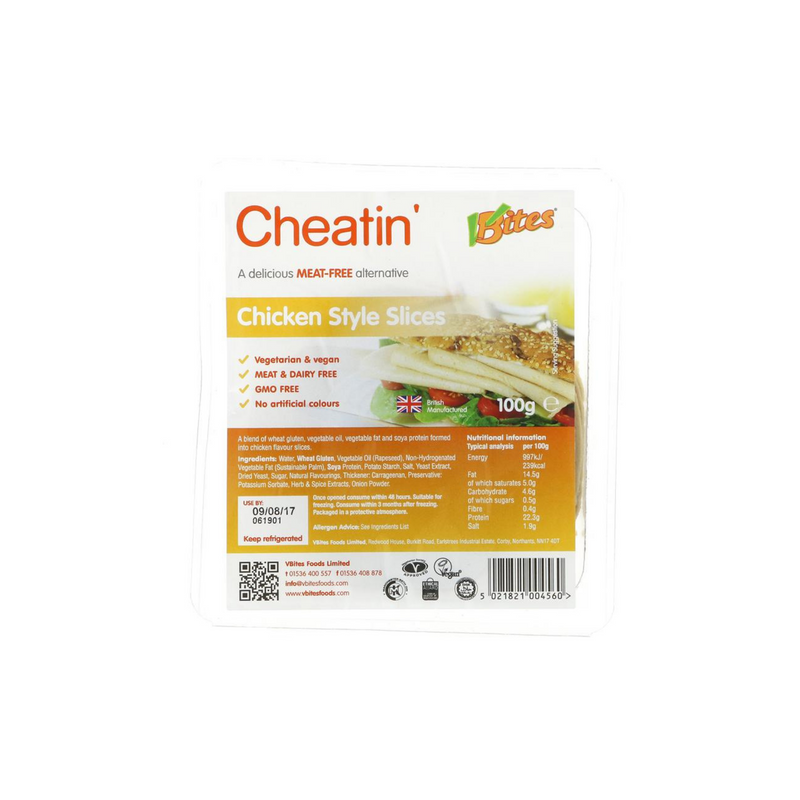 V Bites Cheatin Chicken (100g)