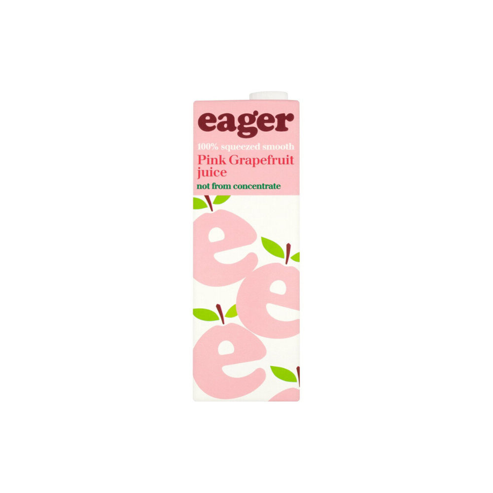 Eager Pink Grapefruit Juice (1L)