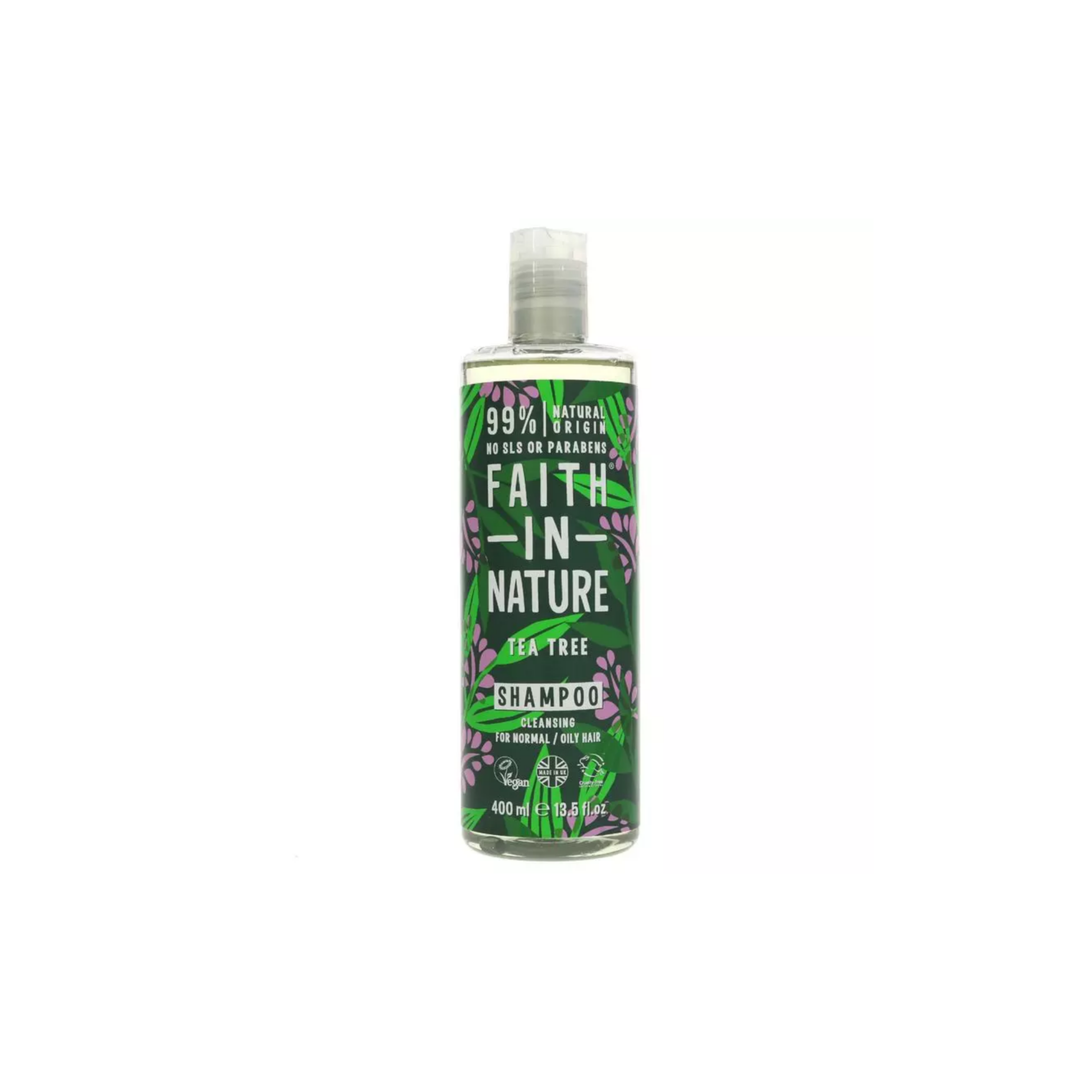 Faith In Nature Shampoo Tea Tree (400ml)