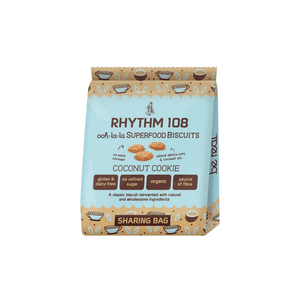 Rhythm Oh la la Tea Biscuit Share Bag Organic Coconut Cookie (135g)