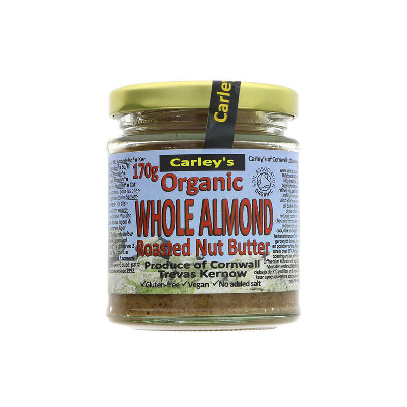 Carleys Organic Almond Nut Butter (170g)