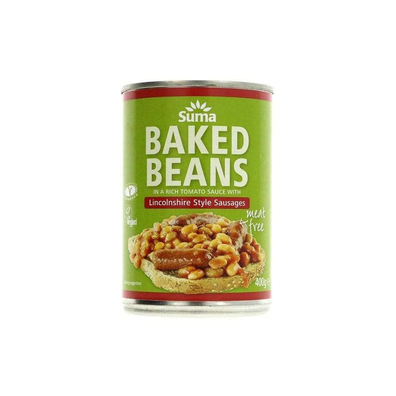 Suma Baked Beans and Sausages (400g)