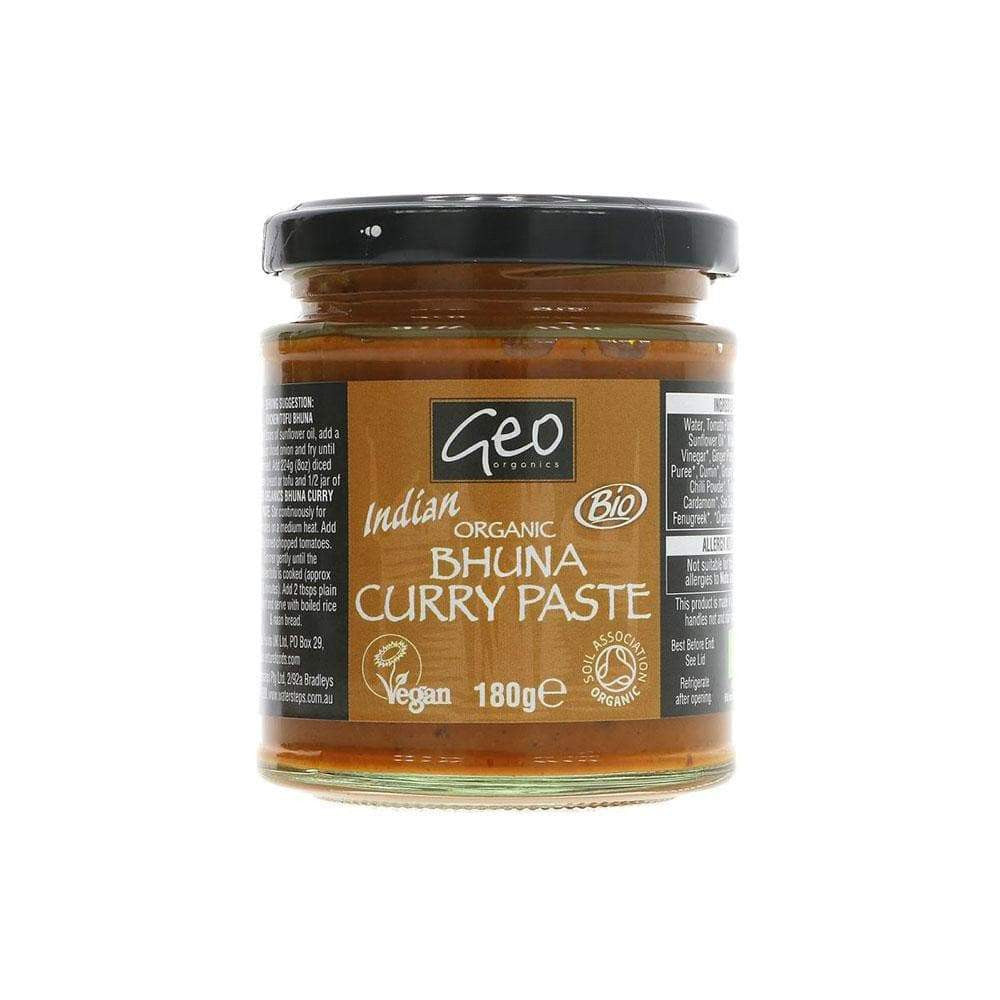 Geo Organics Bhuna Curry Paste (180g)