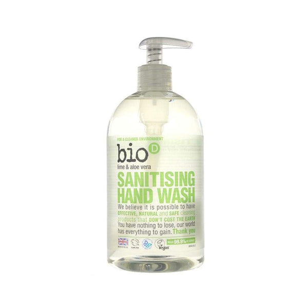 Lime and Aloe Vera Handwash,Handwash,Bio D