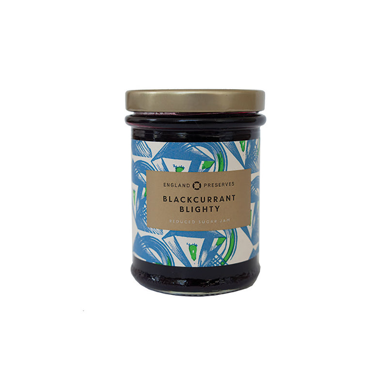 England Preserves Blackcurrant Blighty Jam