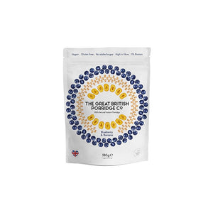 The Great British Porridge Co. Blueberry and Banana Porridge