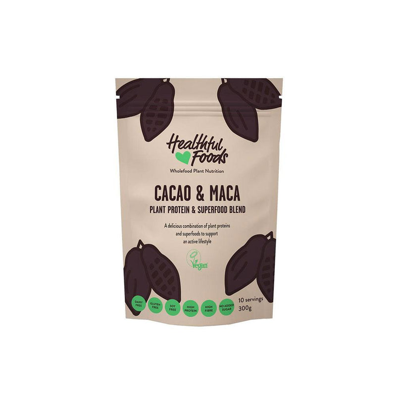Healthful Foods Cacao and Maca Superfood Protein (600g)