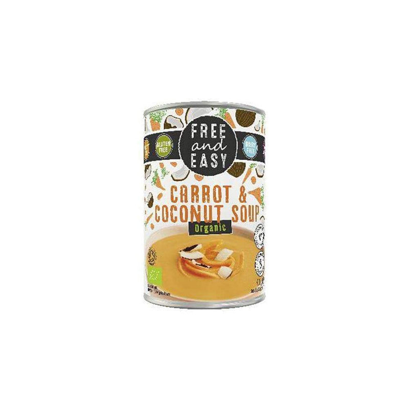 Free and Easy Organic Carrot and Coconut Soup (400g) - Live Well