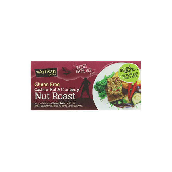 Artisan Grains Cashew and Cranberry Nut Roast (200g)