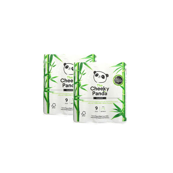 Cheeky Panda Toilet Tissue 18 Pack